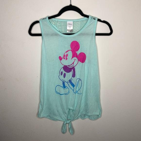 Disney Tops - 🦋3/$15 Juniors Disney Mickey Mouse Tank Size M